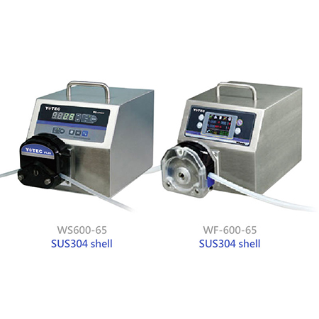 High Flow Peristaltic Pump - W series