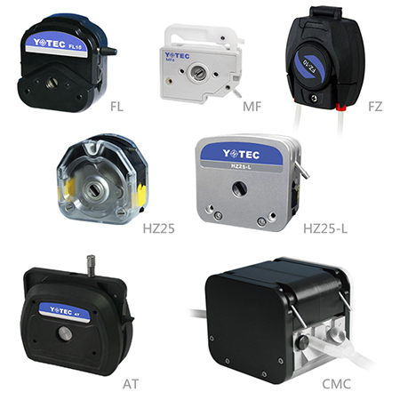 Pump Head - AT series,CMC25,FL series,FZ-10,HZ25/HZ25-L,MF series