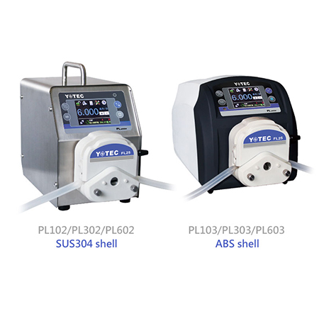 High Pressure Peristaltic Pump - PL102/PL302/PL602 (SUS304 shell) PL103/PL303/PL603 (ABS shell)